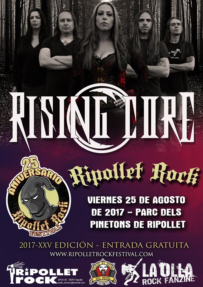 Rising Core Ripollet Rock 2017